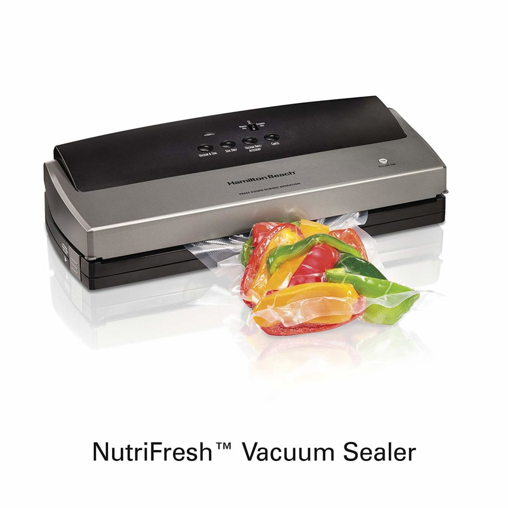 Hamilton Beach Nutrifresh 78213 Vacuum Sealer