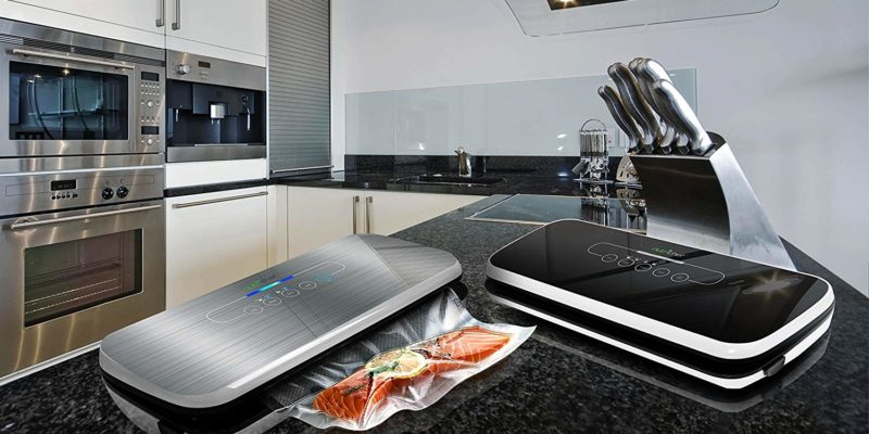 NutriChef Vacuum Sealer | Automatic Vacuum Air Sealing System For Food Preservation