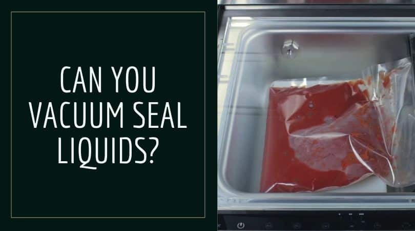 Vacuum Sealer for Liquid