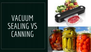 Difference Between Vacuum Sealing And Canning